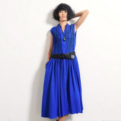 3 Colors Women Casual Maxi Long Ski..